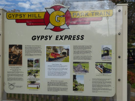 Staunton, Βιρτζίνια: Gypsy Express tribute to dedicated volunteers