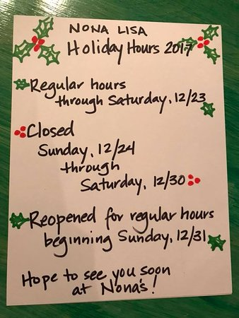 Watertown, TN: 2017 Holiday Hours