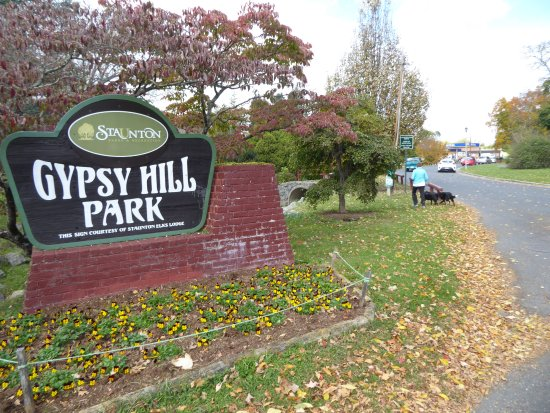 Staunton, Βιρτζίνια: Park sign