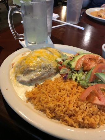 Rowlett, TX: Chilli rellano del mar, margarita on the rocks