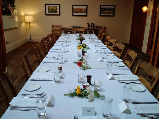 Private Dining Room Set For The Postceremony Meal Picture Of Awesome Private Dining Rooms Portland