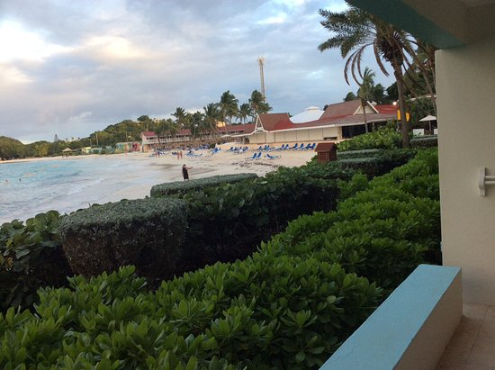 Pineapple Beach Club Antigua - All Inclusive: The view from our Beachfront Room was spectacular!