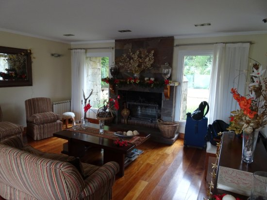 Alma Andina Hosteria: Sala de estar