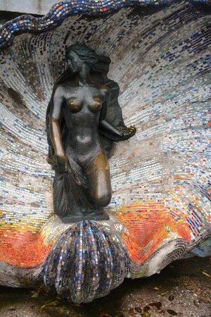 Sculpture Nimfa: В годы Великой Отечественной войны скульптура была повреждена