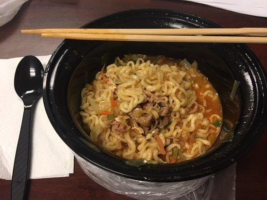 La Verne, CA: Spicy Beef Ramen Soup