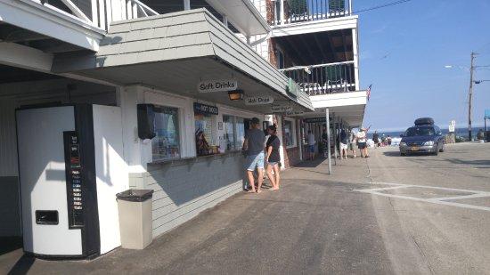 Ogunquit Beach: Boutiques et Casse croûte