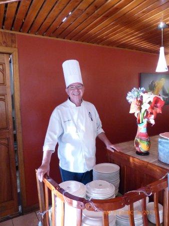 Savegre Hotel, Natural Reserve & Spa: The Joyous Chef!