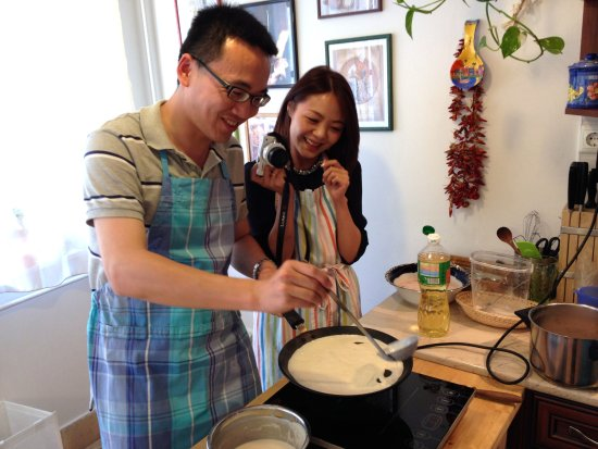 Culinary Hungary Home Cooking Class and Market Tour