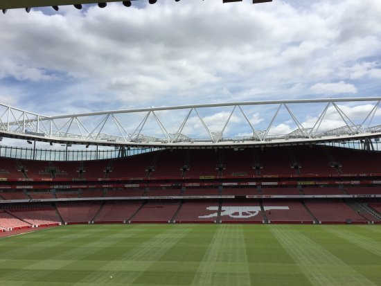 Arsenal Stadium Tours & Museum: Very first part of the tour!