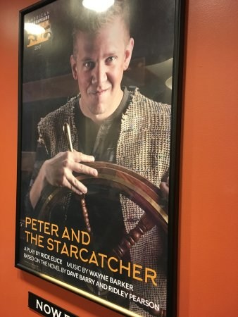 Staunton, VA: Peter and the Starcatcher poster