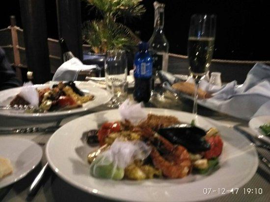 Grand Rotana Resort & Spa: Ресторан А ля карт.