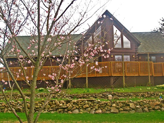 Elkhart, IN: The cabin in Spring