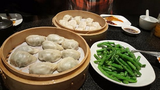 Dumplings And Garlic Green Beans Picture Of Din Tai Fung