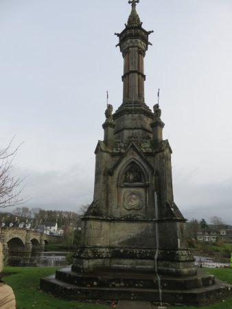 Newton Stewart, UK: monument