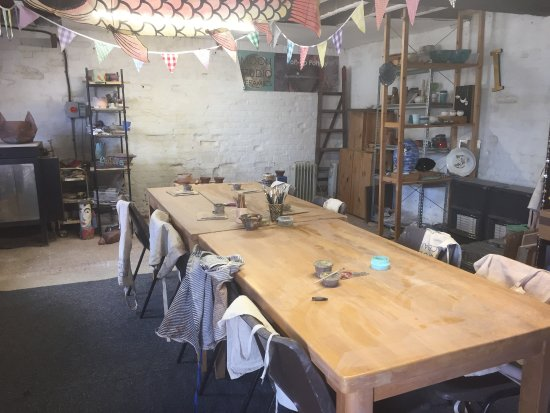 Christchurch, UK: Inside Moon Studio Ceramics