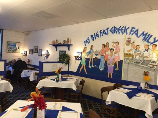 The Greek American Family Restaurant On El Camino Real In Encinitas