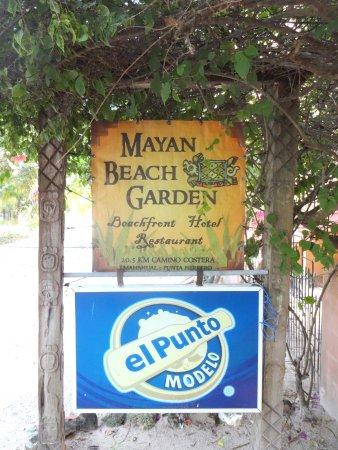 Restaurante jardine a Mayan Beach Garden