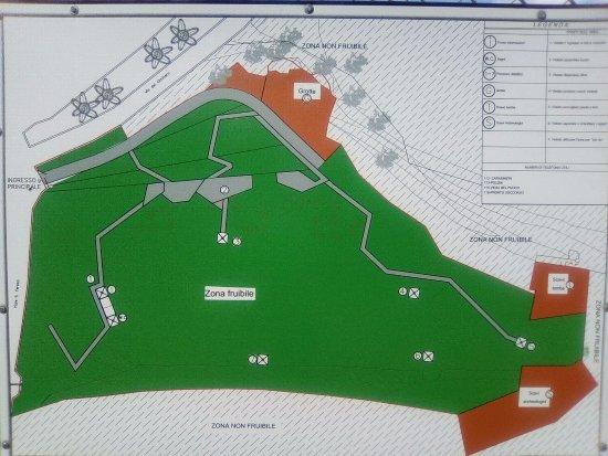 Parco Vallo Volsco: Piantina