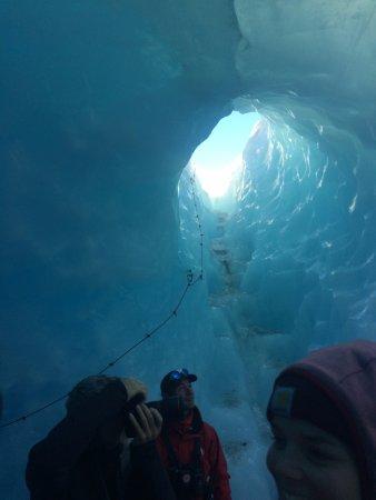 Southern Alps Guiding: Tasman Glacier heli hike 13 May 2017