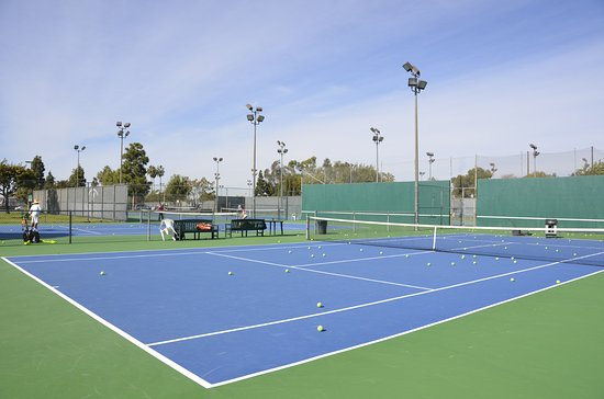 Mile Square Regional Park: Tennis Courts with Lights.