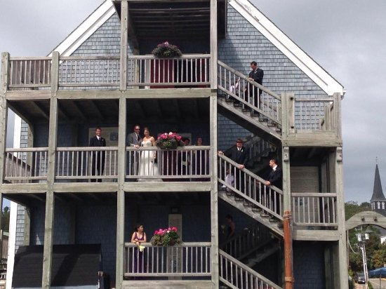 Pictou, Canada: The wedding party
