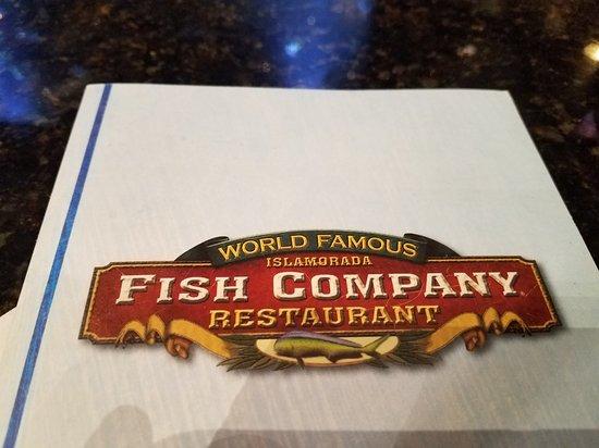 Islamorada fish company ashland menu prices for Islamorada fish company menu