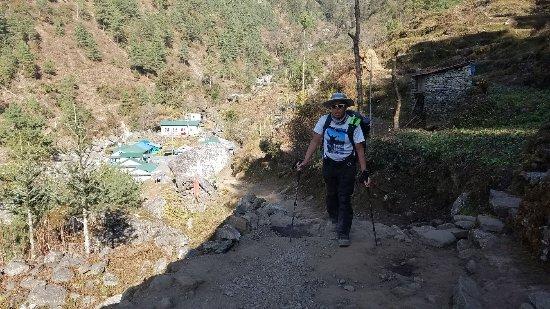 Nepal Trekkers Photo