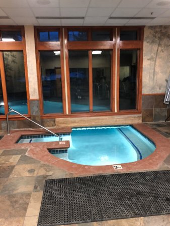 Timbers at Lone Eagle Condos: partly indoor/outdoor pool