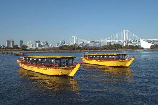 Edomae Kisen, Odaiba Course: 昼間のレインボーブリッジもなかなかですよね★