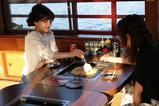 Edomae Kisen, Odaiba Course: 女性のみのお客様も大歓迎です~!