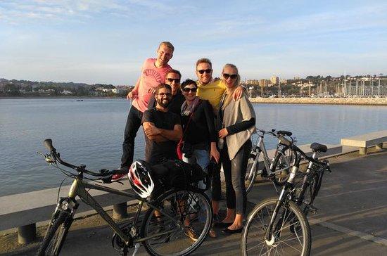 Abendliche Radtour durch Porto