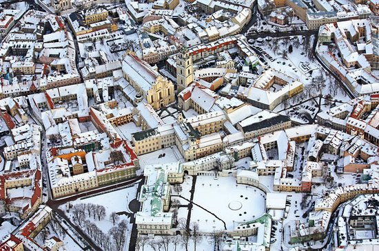 Vilnius Winter Flight In Hot Air...