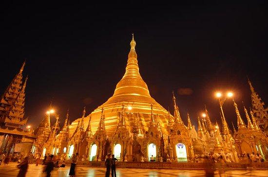 Excursão Noturna de Yangon no Pagode...