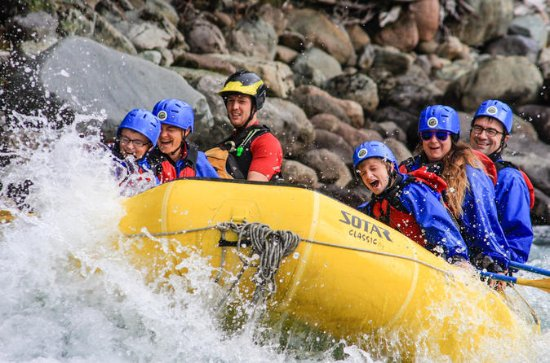 Full-Day Cheakamus Rafting and Sea to...
