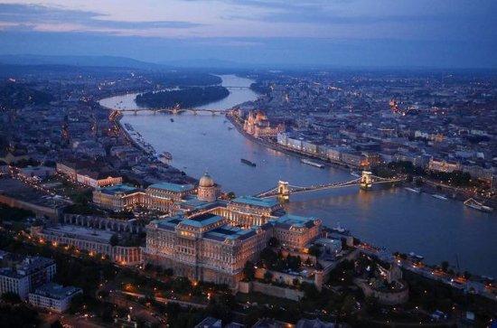 Budapest Croisière tard dans la nuit...