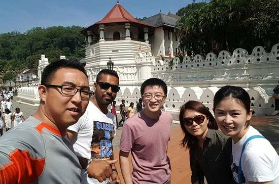 Kandy City Tour med MTH