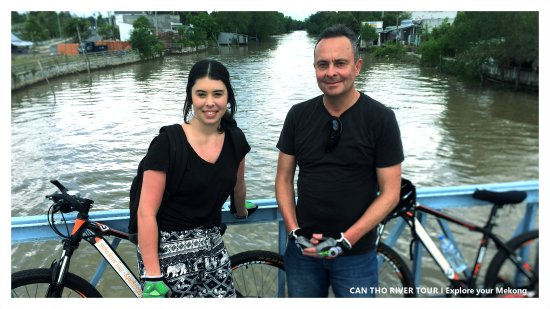 Can Tho River Tour Co., Ltd. Cycling along canals, around villages after Cai Rang floating marke