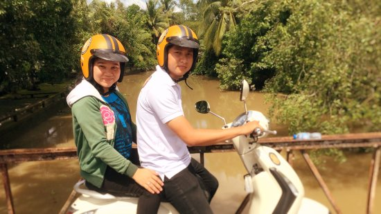 Can Tho River Tour: Can Tho Motorbike tour is so much fun. OMG it is great way to explore Mekong with Cantho river t