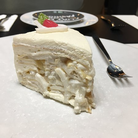 Greyhound Cafe: The Fresh coconut  cake is unmatchable !!! Same goes for coconut fresh juice with coconut meat i