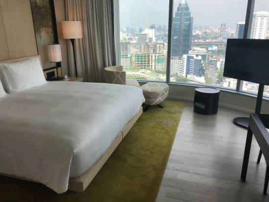 Park Hyatt Bangkok: my corner room