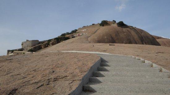 Bhongir Fort: the entry