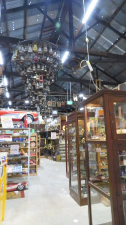 The Restorers Barn: Hurricane lamps used to make a chandelier