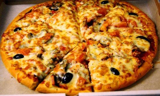 Cafe Navoi Shohnoma: пицца ассорти