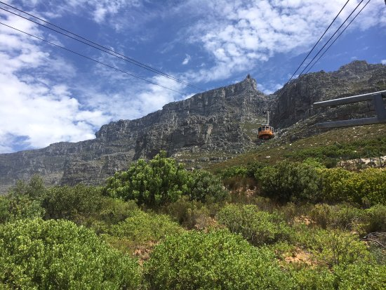Table Mountain: Going Up