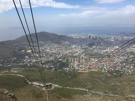 Table Mountain: View from Cable car