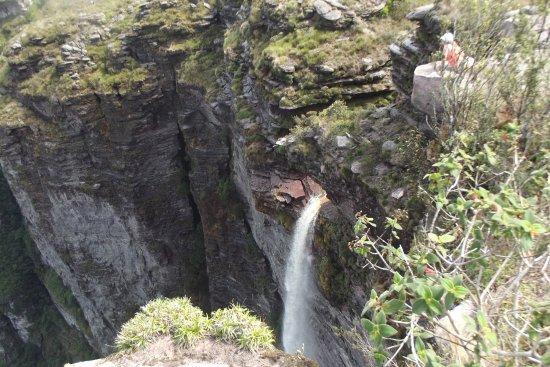 Cachoeira da Fumaca: Fumaça de cima