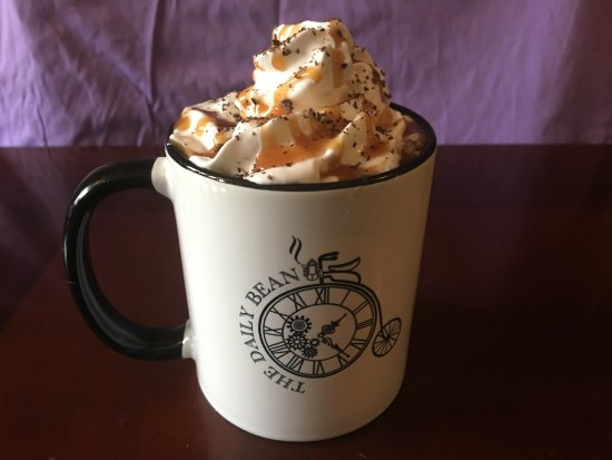 The Daily Bean: Salted Caramel Mocha Cappuccino