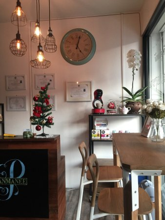 Panmanee Thai Massage: This is the new coffee corner enjoy them  before or after massage