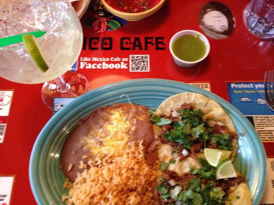 Mexico Cafe: Taco lunch special