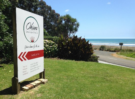 Ohiwa Seascape Studios: Enjoy pristine Ohiwa Beach right at our doorstep